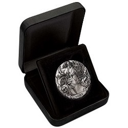 "Серебряная монета ""Боги Олимпии: Аид"" 2 унции"