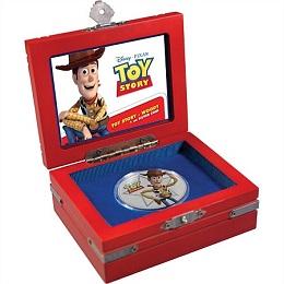Серебряная монета «История игрушек. Вуди» 1 унция
