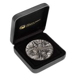 "Серебряная монета ""Римский легион"" 2 унции"