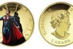 золотая монета Бэтмен против Спермена