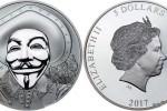 Вышла монета с маской из фильма «V - значит вендетта»
