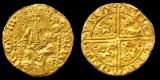 В Англии продаётся первая золотая монета пенни