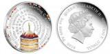 """Серебряная монета """"С Днём Рождения"""" 2 унции"""