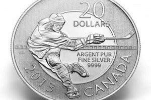 Серебряная монета хоккей как собирать гербарий
